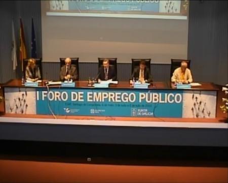 José María Barreiro Díaz. - I Foro sobre Empleo Público